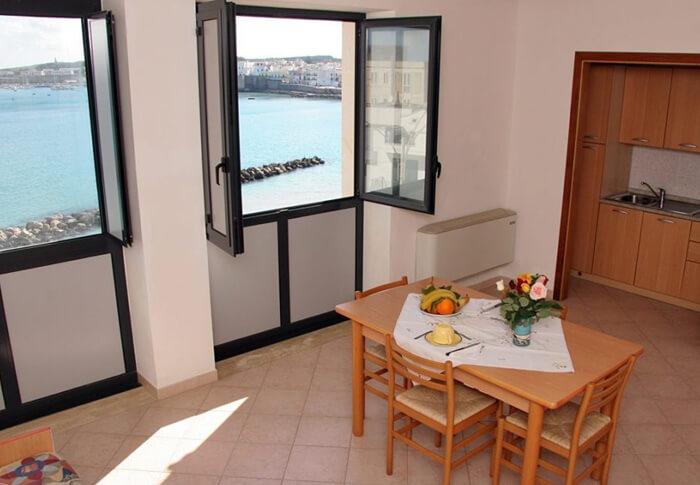 bilocale con vista mare Otranto salento
